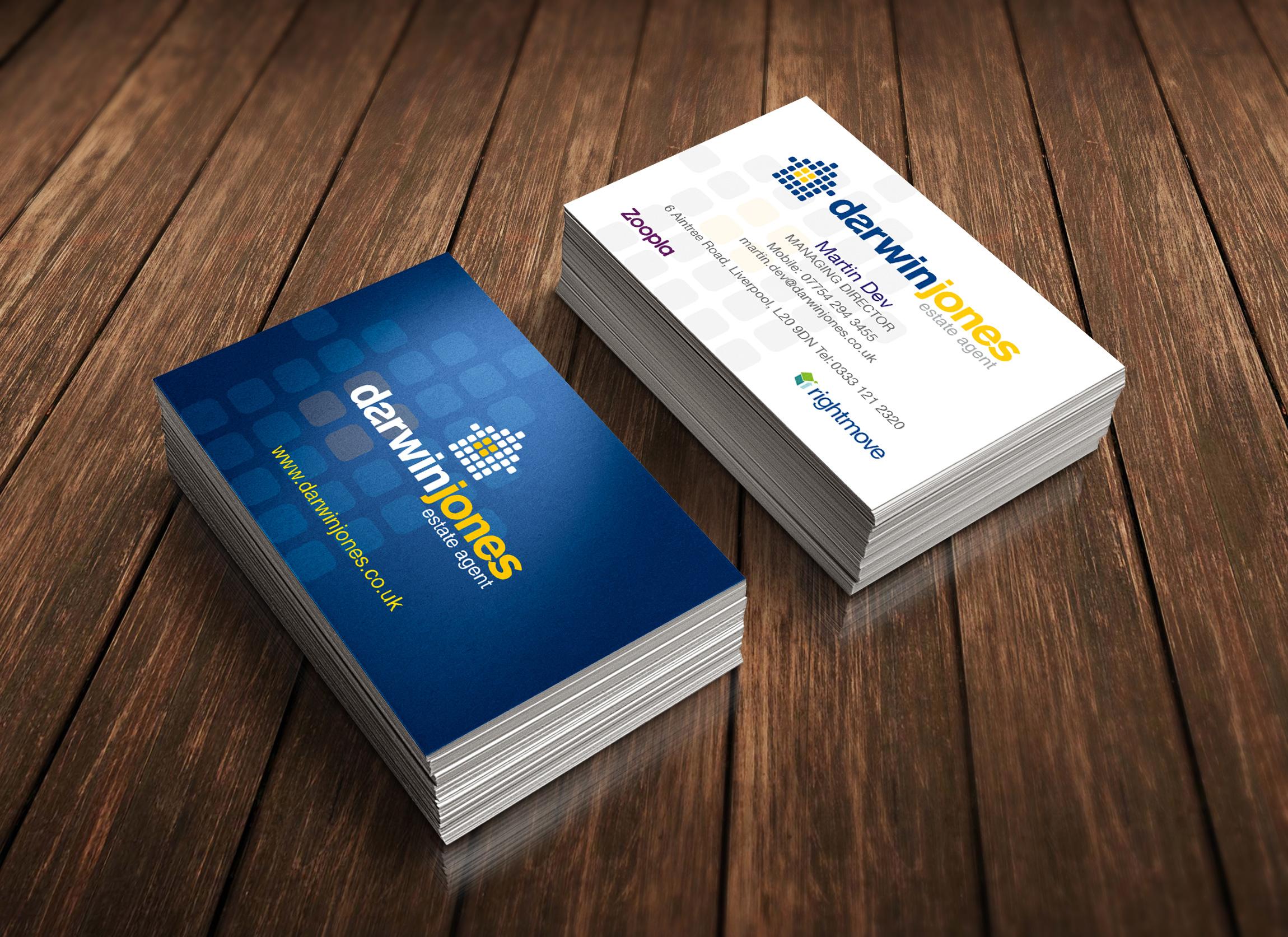 Darwin Jones Business Cards