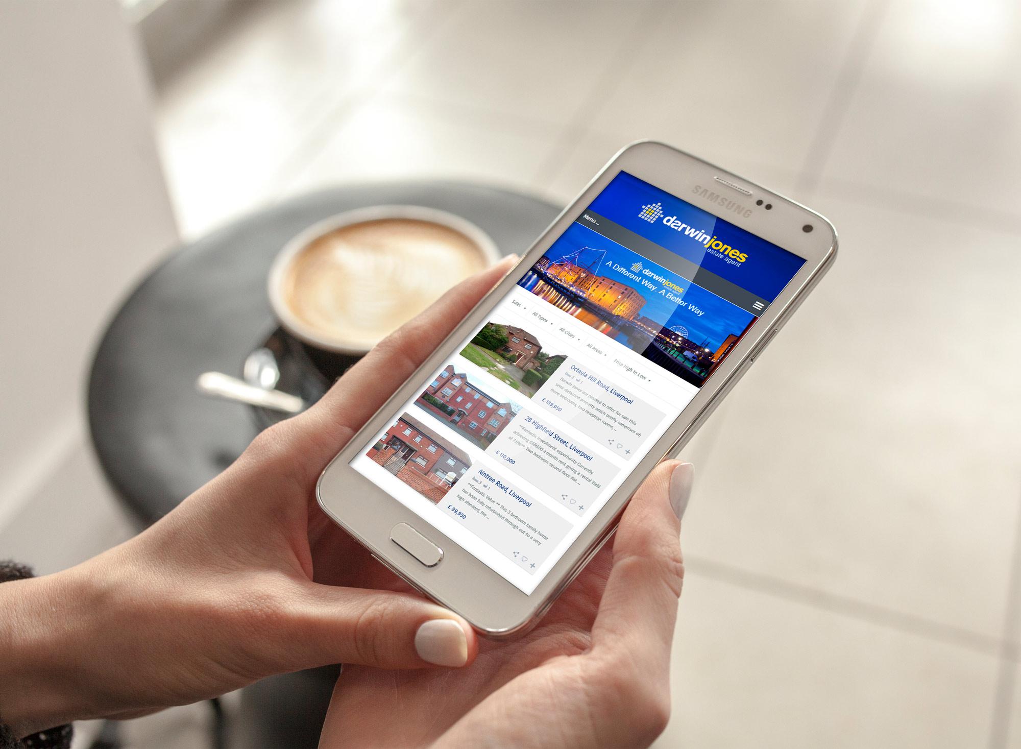 Darwin Jones Mobile Responsive Website