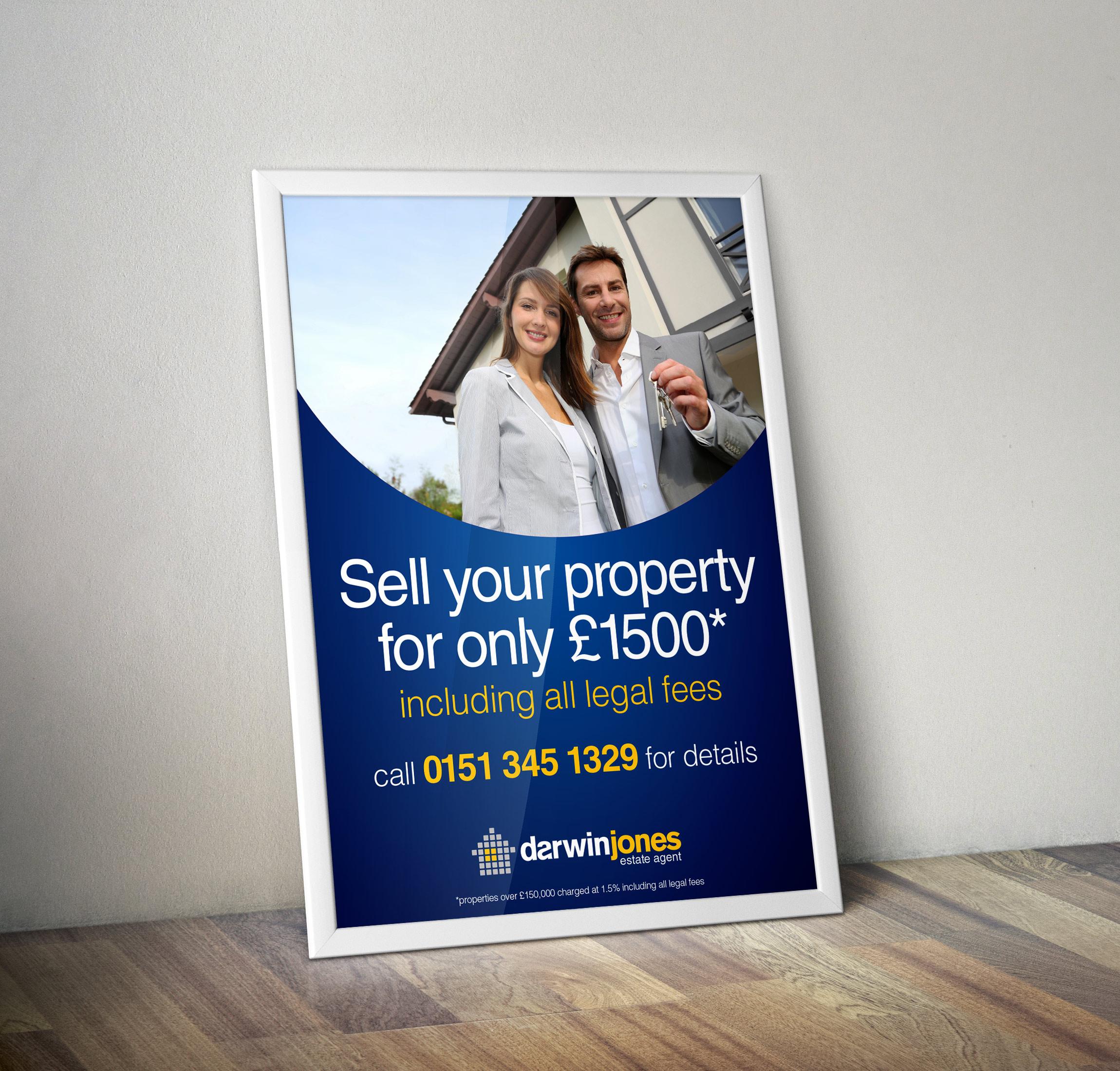 Darwin Jones A2 Window Poster