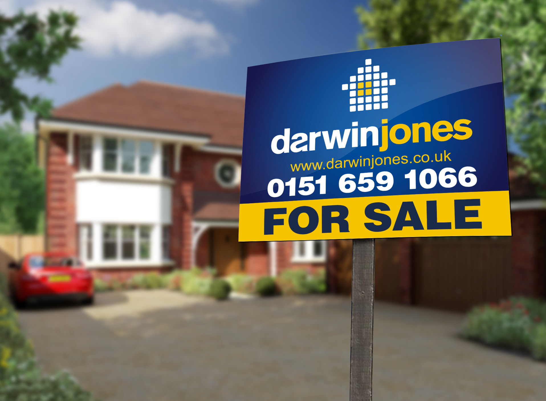 Darwin Jones Estate Agent Sale Boards