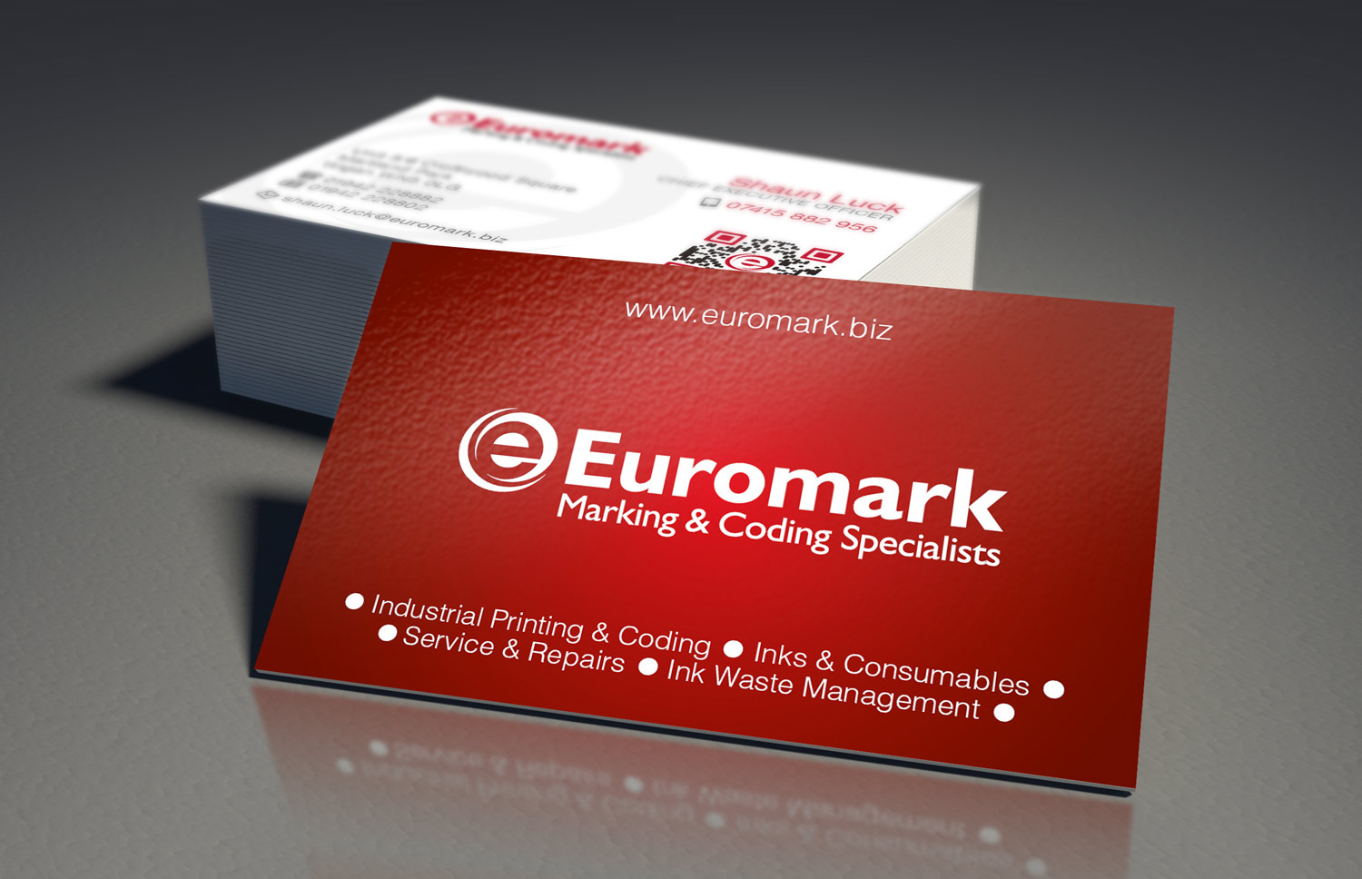Euromark Business Cards