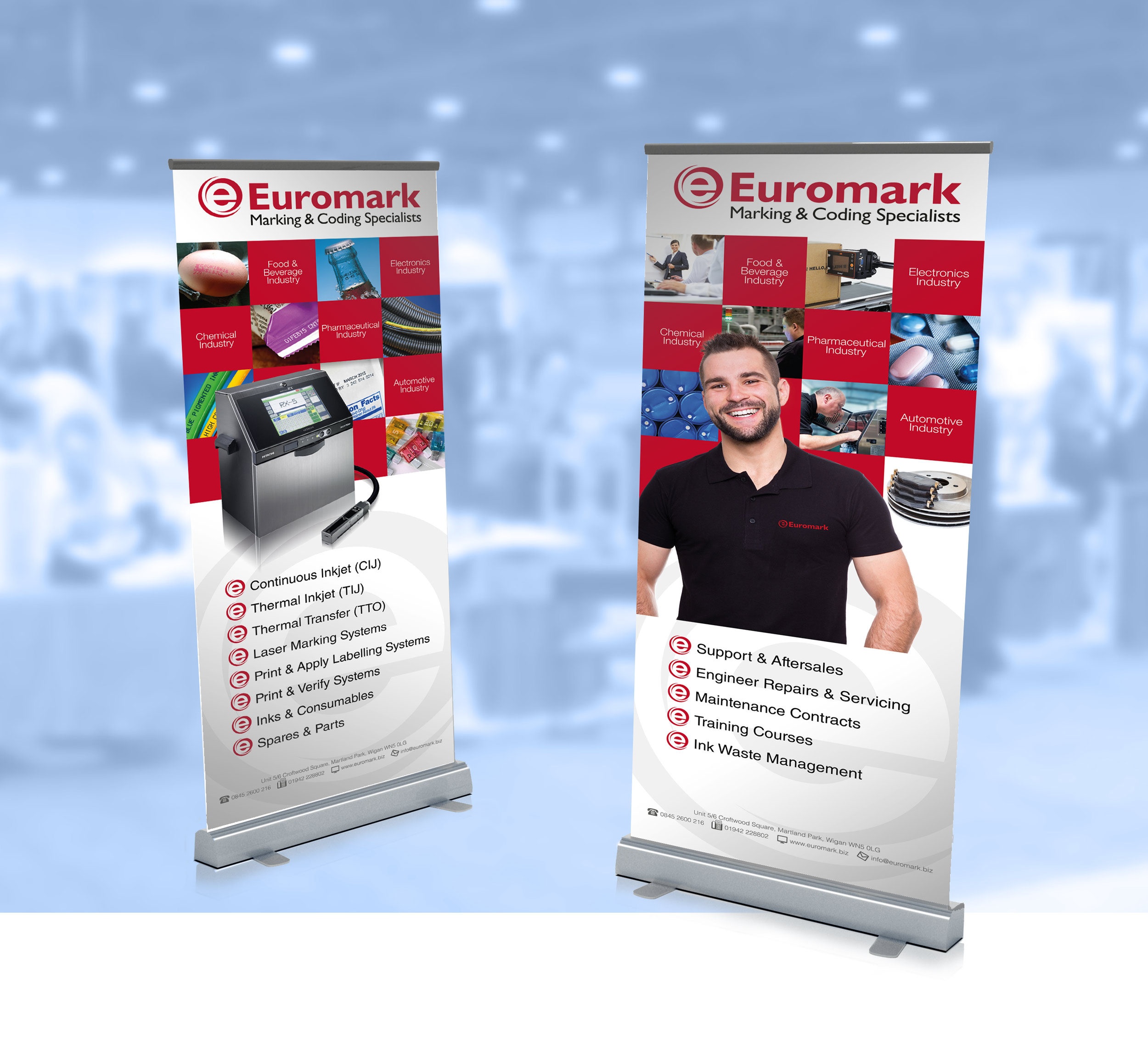 Euromark Exhibition Panels