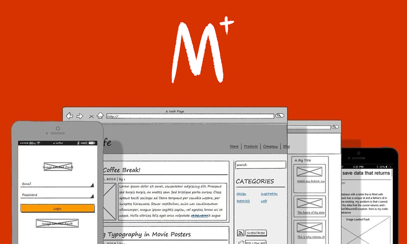 Mockplus combines power and simplicity to give you one of the best prototyping tools in the market